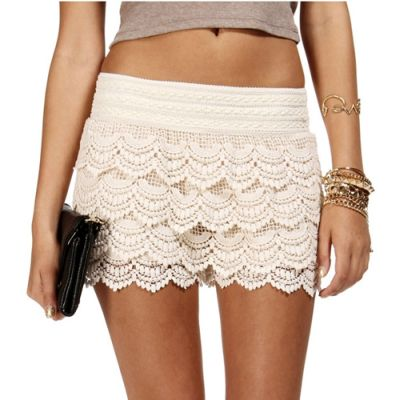 Shop huge inventory of White Lace Shorts, Black Lace Shorts, High Waisted Lace Shorts and more in Shorts and Women's Clothing on eBay. Find great deals and get free shipping. You love wearing shorts, but the pairs you've dared to buy in the past have come up short of your expectations. If you're sick of shorts that don't quite fit or don't.