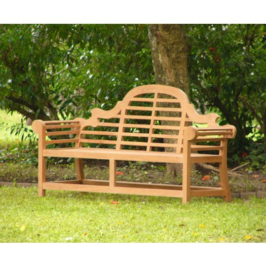 Outdoor garden teak timber luxury carved bench seat buy