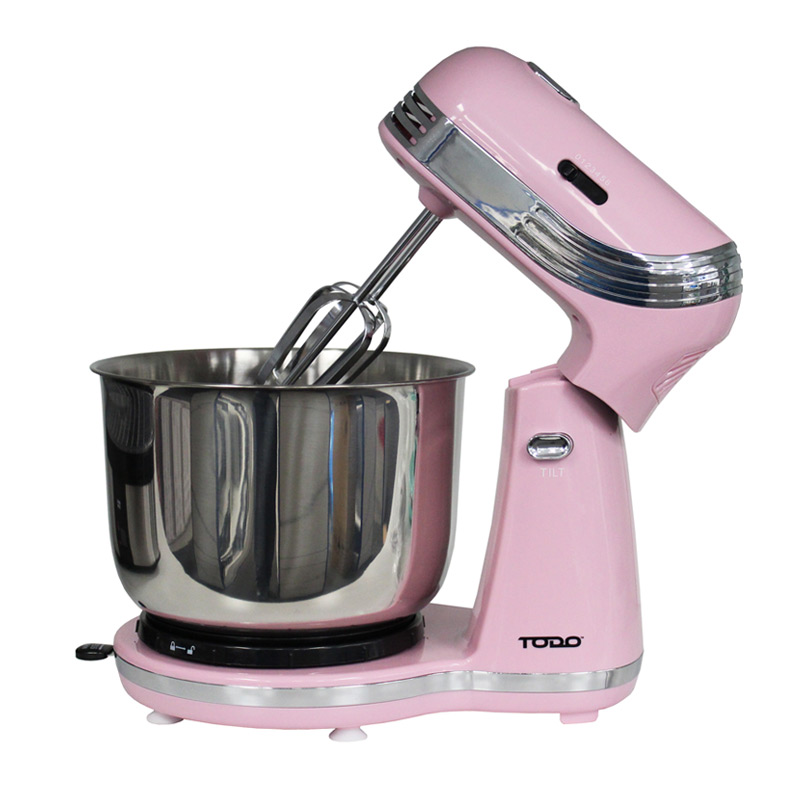 Electric Mixer Attachments ~ Speed electric cake stand mixer bowl colours buy