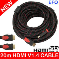 Latest 20M HDMI Cable With Gold Platted Connectors