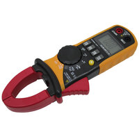 Digital DC/AC Amp Voltage Clamp Multimeter w/ Leads