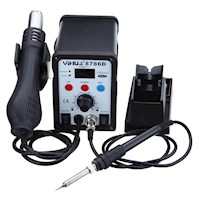 Soldering Hot Air Gun Station with LCD Display