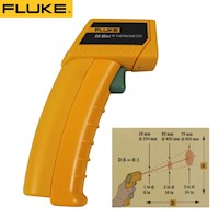 Battery Fluke Infrared Thermometer Gun 9V