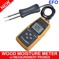 LCD Digital Wood Moisture Meter w/ Separate Probe