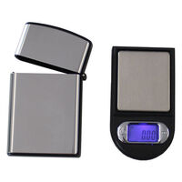 Mini Digital Electronic Pocket Scale & Steel Case