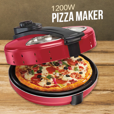 1200w Electric Pizza Maker With Non Stick Base Buy Ovens