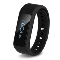 Fitness Band Activity Track w/ SMS Alert Black