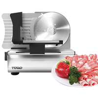 Todo Stainless Steel Class 2 Food Slicer 190mm 200W