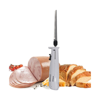 Todo Stainless Steel Electric Knife in White 120W