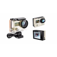 Waterproof 1080p HD WiFi Sports Action Camera Gold