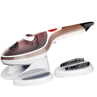 Todo Steam Iron Brush w/ LED Indicator Brown 1000W