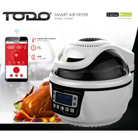 Smart WiFi Air Fryer w/ Accessories White 10L 1400W