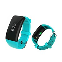 Fitness Band Heart Rate Monitor Smart Watch in Blue