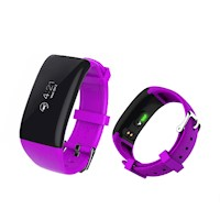 Fitness Band Heart Rate Monitor Smart Watch Purple