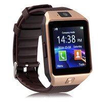 Smart Watch with GSM Network and Camera in Gold