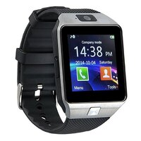 Smart Watch with GSM Network and Camera in Silver
