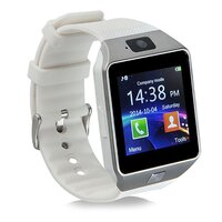 Smart Watch with GSM Network and Camera in White
