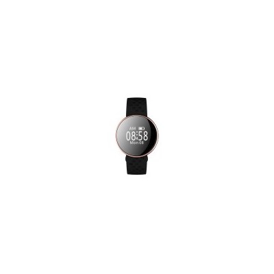 Smart Fitness Watch w/ Heart Rate Monitor in Black
