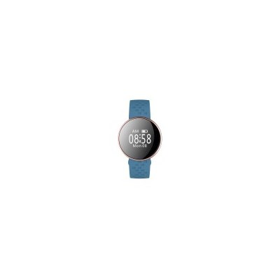 Smart Fitness Watch with Heart Rate Monitor in Blue
