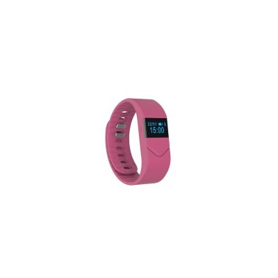 Fitness Bracelet with Heart Rate Monitor in Pink