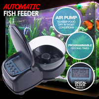 Programmable Automatic Fish Feeder Food Dispenser