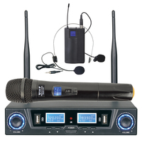 Wireless Two Channel Headset & Handheld Microphones