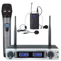 Two Channel Wireless Headset & Handheld Microphones