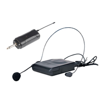 Wireless Transmitter  Receiver and Headset Mic Set