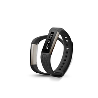Wireless Fitness Band w/ Heart Rate Monitor - Black