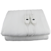 QUEEN SIZE - ELECTRIC BLANKET WASHABLE FITTED POLYESTER CONTROLLER LED DISPLAY DIGILEX