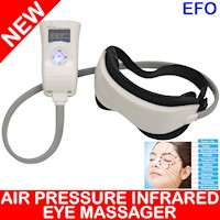 Digital Temple Infrared Eye Care Head Massager