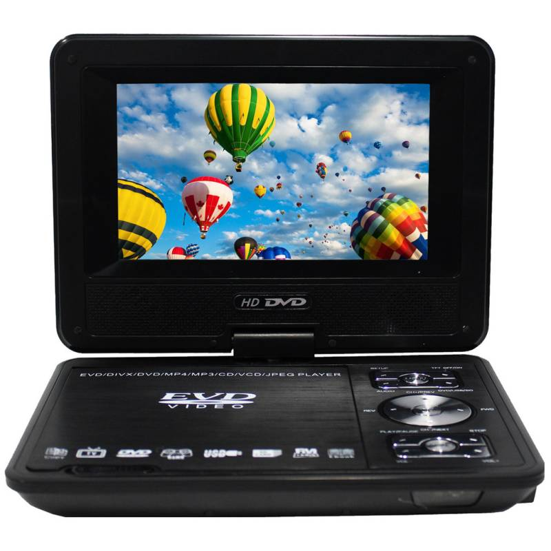 7 inch portable led dvd player with game control buy dvd. Black Bedroom Furniture Sets. Home Design Ideas