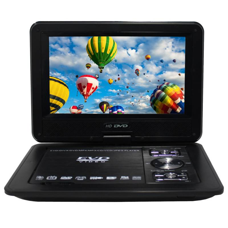 portable multi format led dvd player w 9in monitor buy dvd players 161516. Black Bedroom Furniture Sets. Home Design Ideas