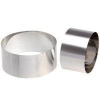 Creative Cook Stainless Steel Food Ring Set
