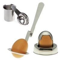 Creative Cook 3pcs Egg Utensil Set