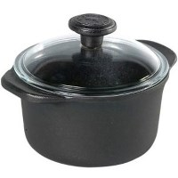Skeppshult Cast Iron 3.0L Casserole with Glass Lid