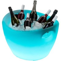 Innovia LED Illuminated Bottle Chiller Ice Bucket