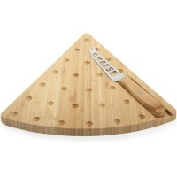 Core Bamboo Cheese Board & Knife - Cheesy