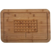 Core Bamboo Diamond Carving/ Cutting/ Serving Board