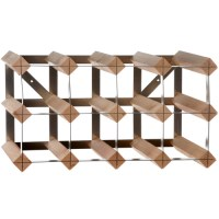 Traditional Company 12 Bottle Assembled Wine Rack