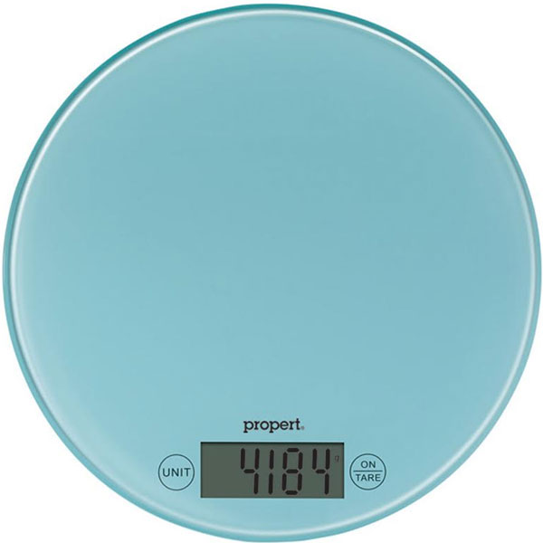 Blue Kitchen Scales: Propert Kitchen Scale - Blue