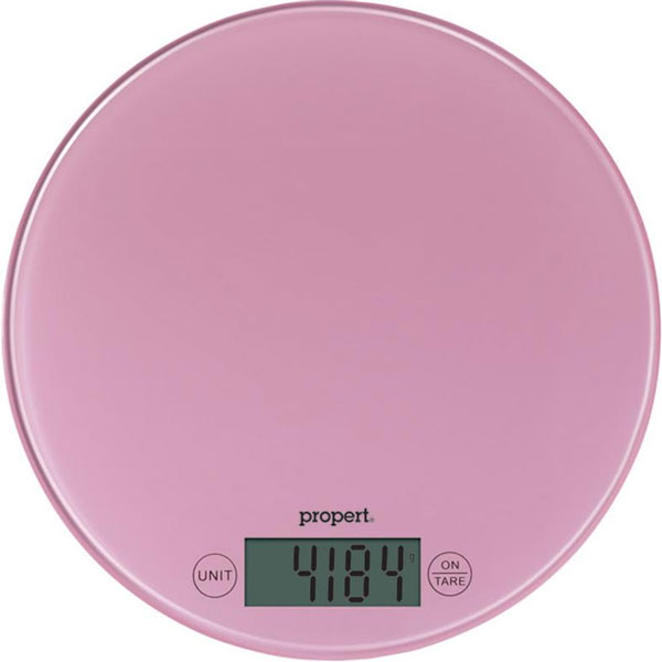 Gentil Propert Kitchen Scale   Pink. H M S Remaining