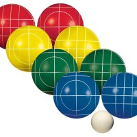Franklin Advanced 100mm Bocce Set with Carry Case
