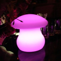 Innovia Outdoor LED Mushroom Table Lamp Light 20cm