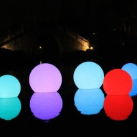 Sphere Outdoor Floating Pool Light w/ Remote 40cm