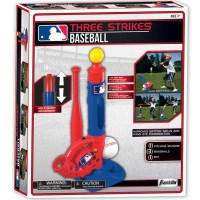 Major League Baseball 3 Strikes Kids Baseball Set