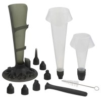 Mastrad Pastry Cake Piping Bag Set with 6 Nozzles