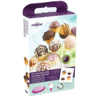 Mastrad Silicone Cake Pops Baking Set & Recipe Book