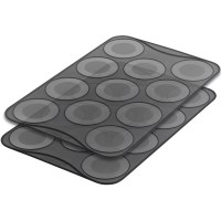 2x Mastrad Large Macaron Baking Trays in Silicone