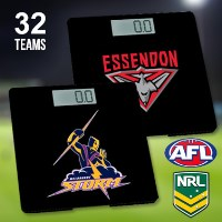 Official AFL & NRL Digital Bathroom Scales